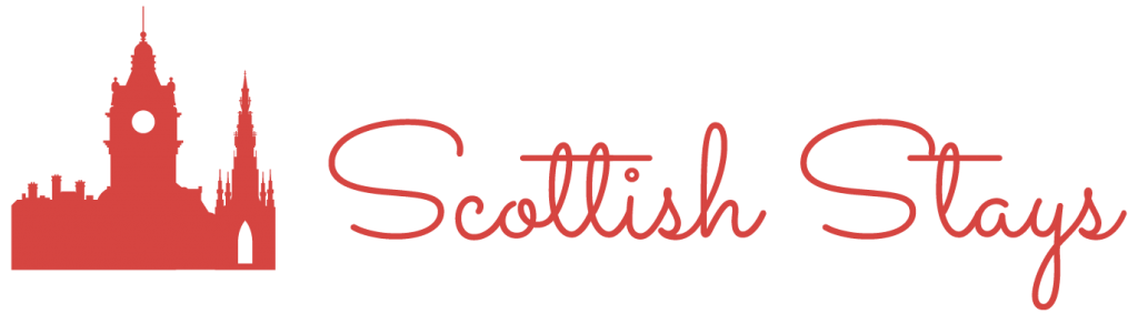 Scottish Stays logo color red valencia